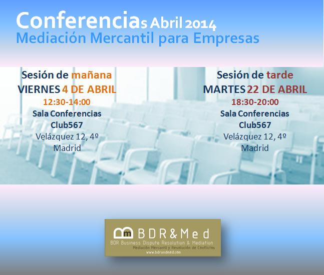 Imagen Conferencias Abril