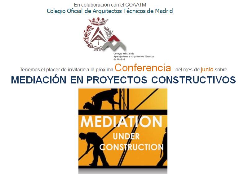 Imagen web conferencia COAATM